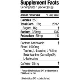 GU Energy Roctane Ultra Endurance Energy Drink Mix 65g, Lemon Berry